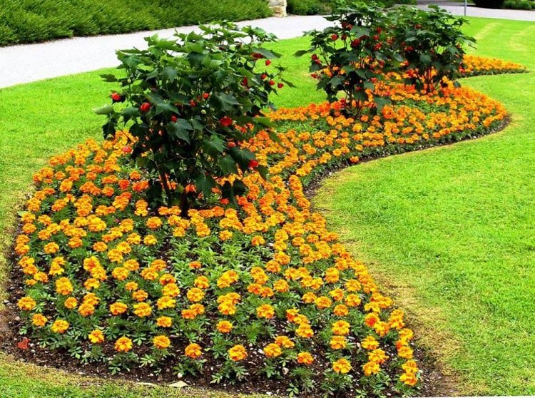 Big Flower Bed Decor Ideas For Your Yard