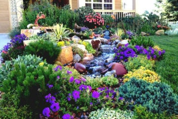 Front Yard Landscaping Garden Design Ideas