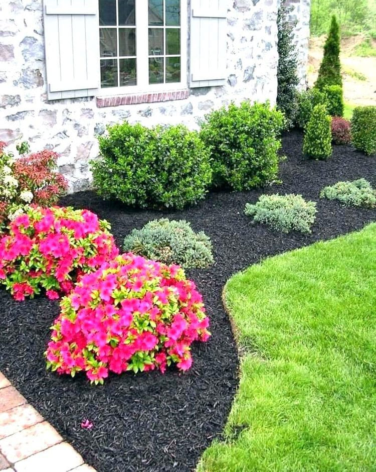 Cute Landscaping Flower Beds