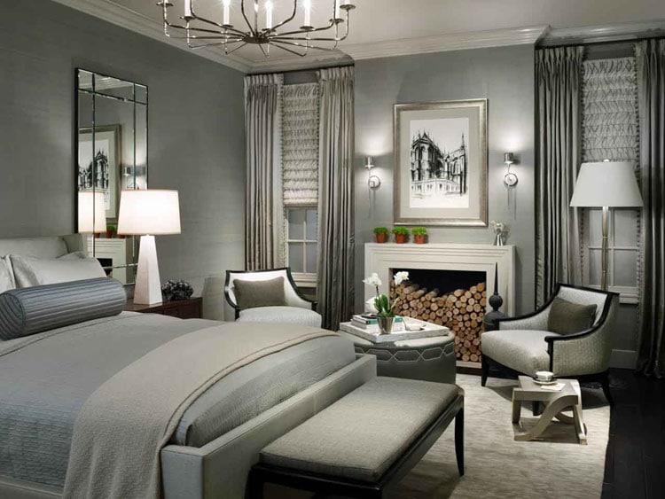Luxury Grey Master Bedroom