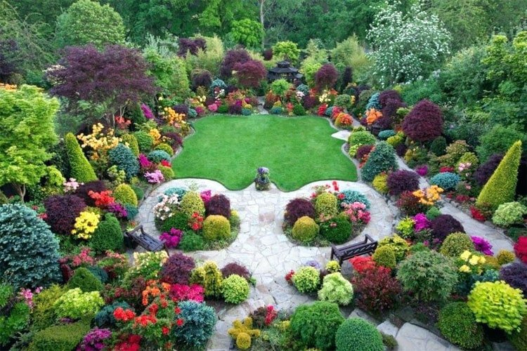 Magical Flower Bed Designs