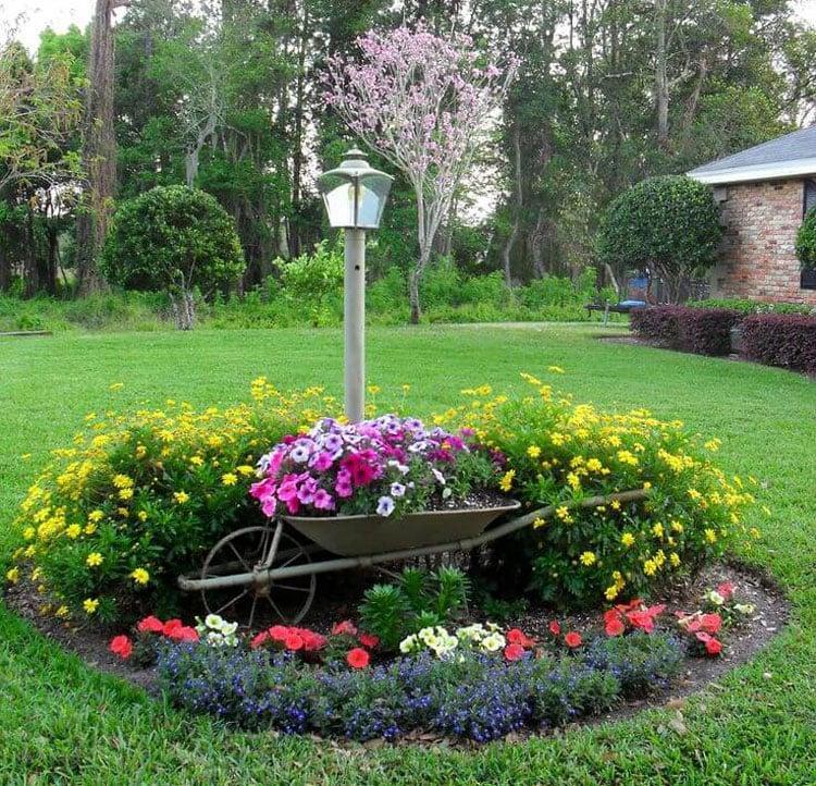 Easy Flower Landscaping
