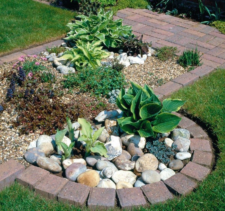 Simple Plant Bed Edges and Lawn Borders