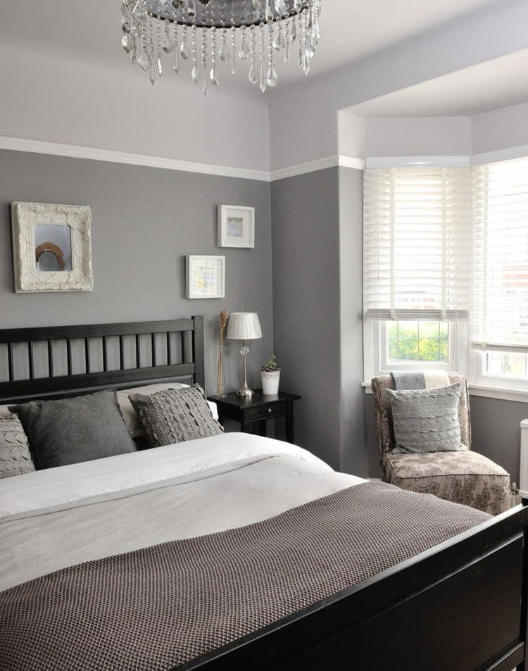 Small Grey Bedroom Ideas
