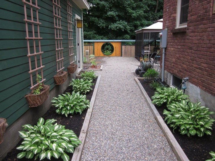 Walkway Edging Ideas