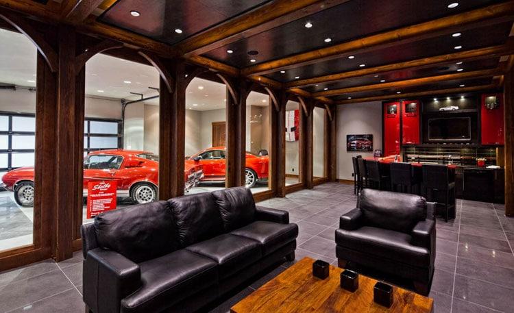 Best Man Room Ideas For Modern Car Enthusiast