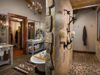 45 Best Rustic Bathroom Ideas