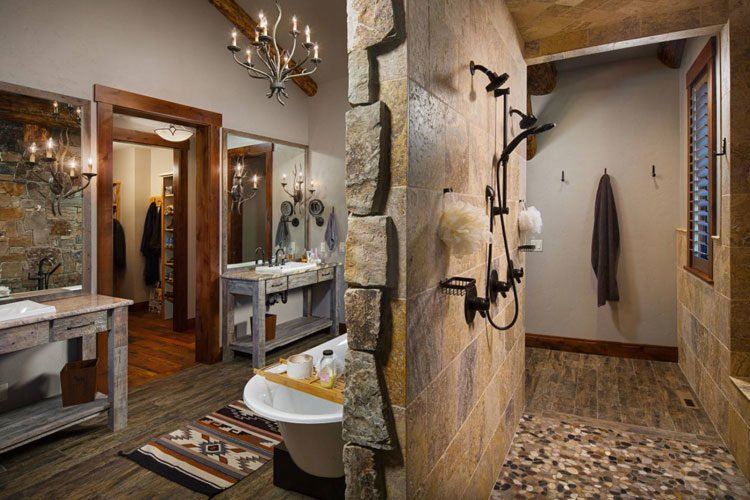 45 Best Rustic Bathroom Decor Ideas Designs 2021 Guide