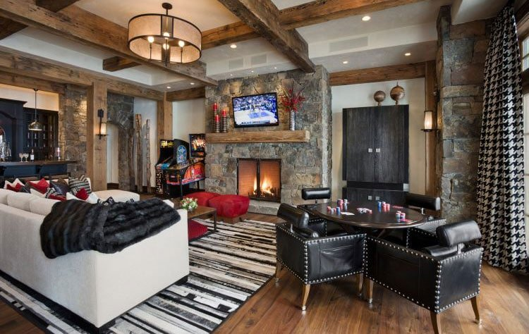 Build A Man Cave with Cool Furniture
