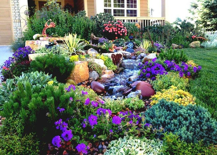 Cool Front Yard Ideas - Beautiful Front Yard Garden Designs