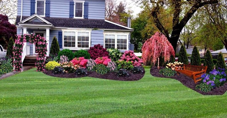 Creative Landscaping Ideas For A Large Front Yard