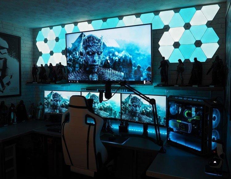 40 Best Video Game Room Ideas Cool Gaming Setup 2021 Guide
