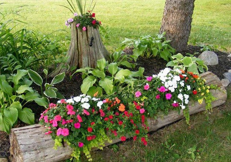 Get Creative with Front Yard Planters