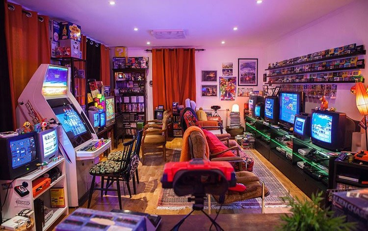 Hardcore Gamer Room Design Ideas