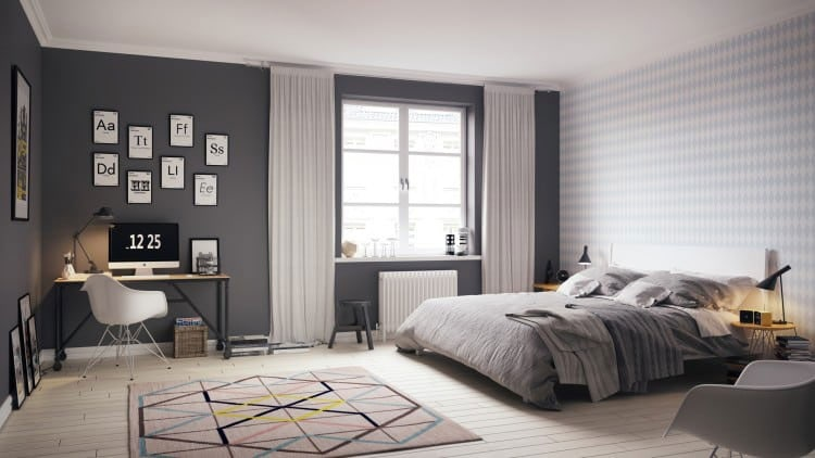 Men's Apartment Bedroom Decor Ideas