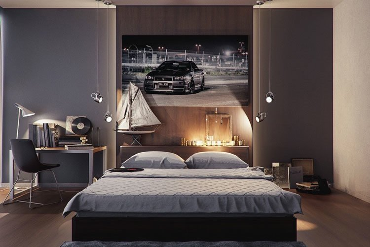 57 Best Men S Bedroom Ideas Masculine Decor Designs 2021 Guide