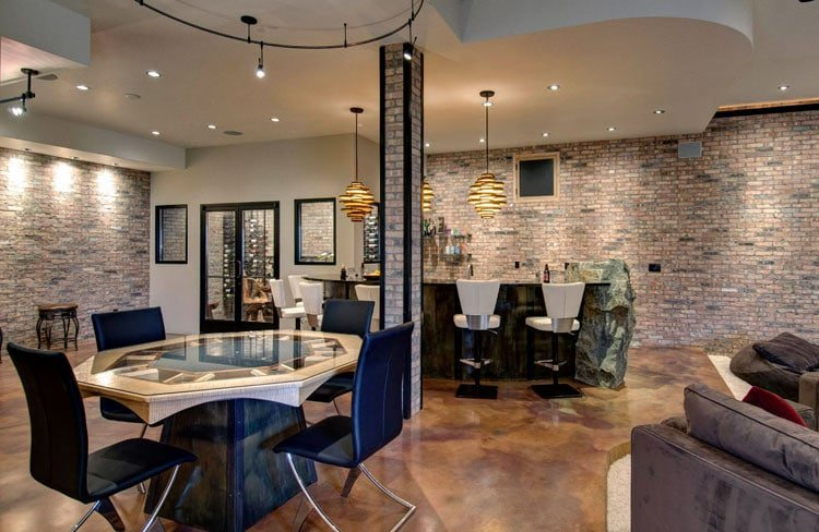 Modern Man Cave Room Ideas with Awesome Furniture and Design
