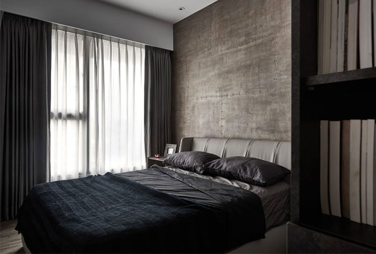 Functional Men's Bedroom with Minimal Decor