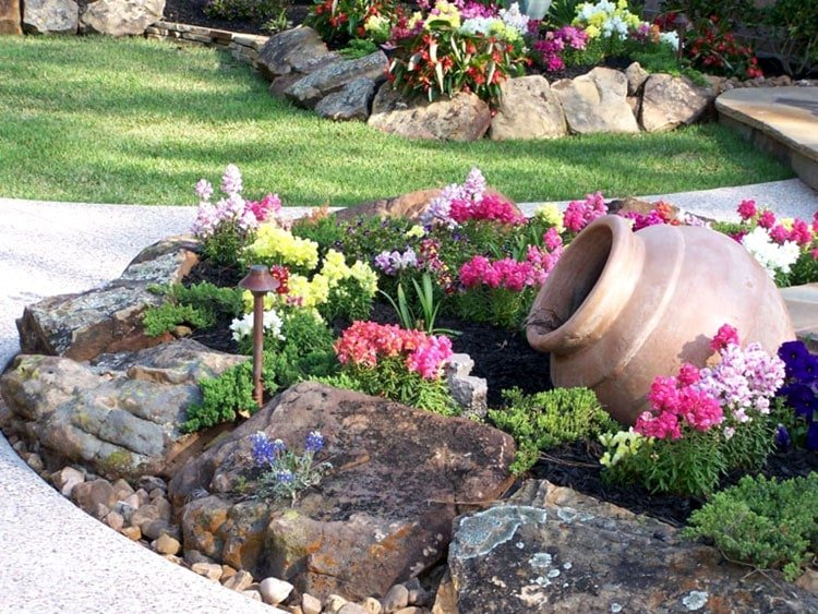 Rustic Front Landscaping Designs