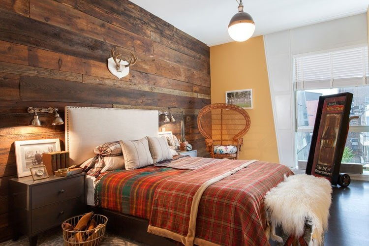 Rustic Masculine Bedroom Design