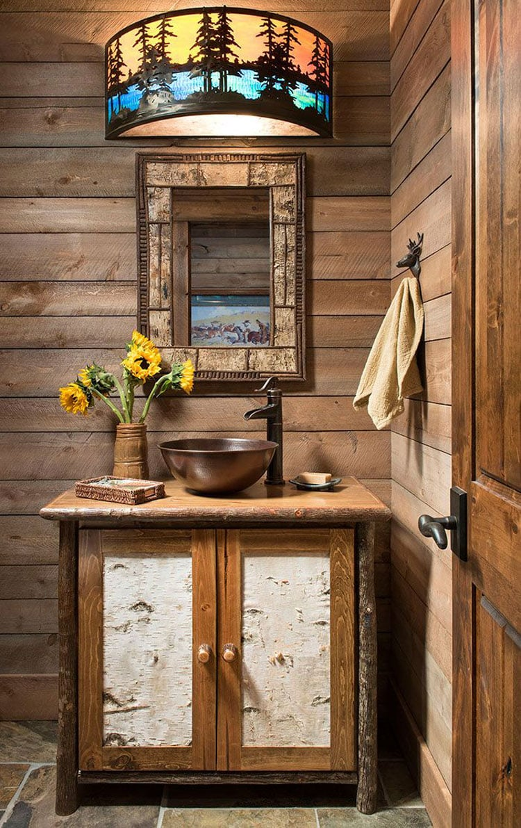 Simple and Easy Rustic Bathroom Decor Ideas
