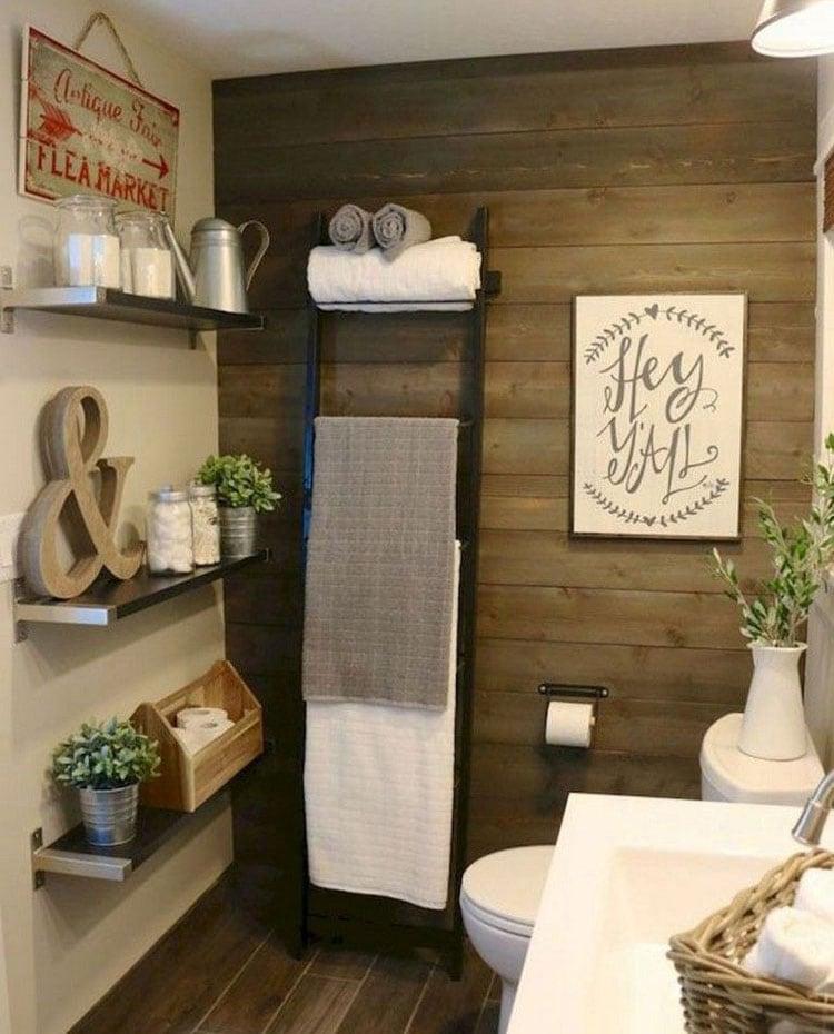 Adorable Ways To Organize A Small Bathroom