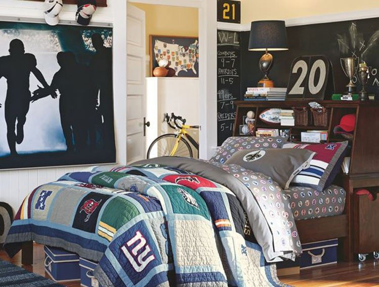 Athletic Boys Room Ideas
