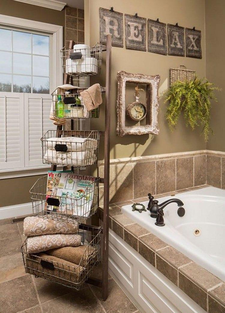 Bath Storage Organizer Ideas