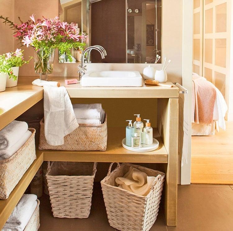 Beautiful Bathroom Cabinet Storage Designs