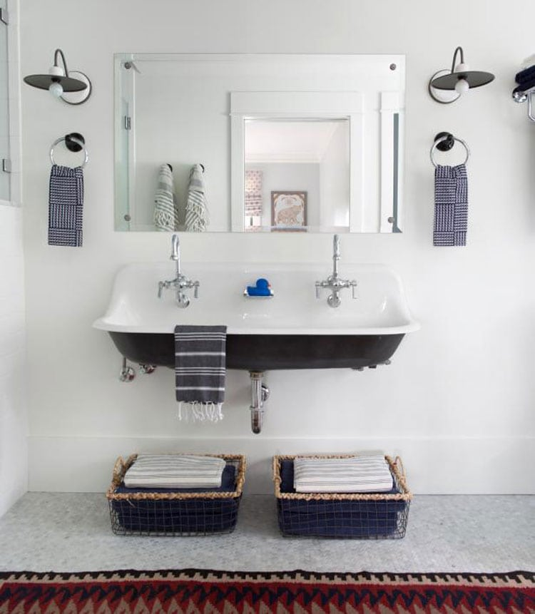 Cheap Bathroom Storage for Minimal Spaces