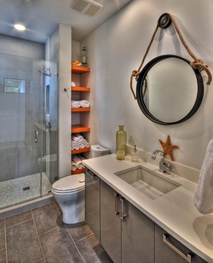 Cool Creative Bathroom Storage Solutions