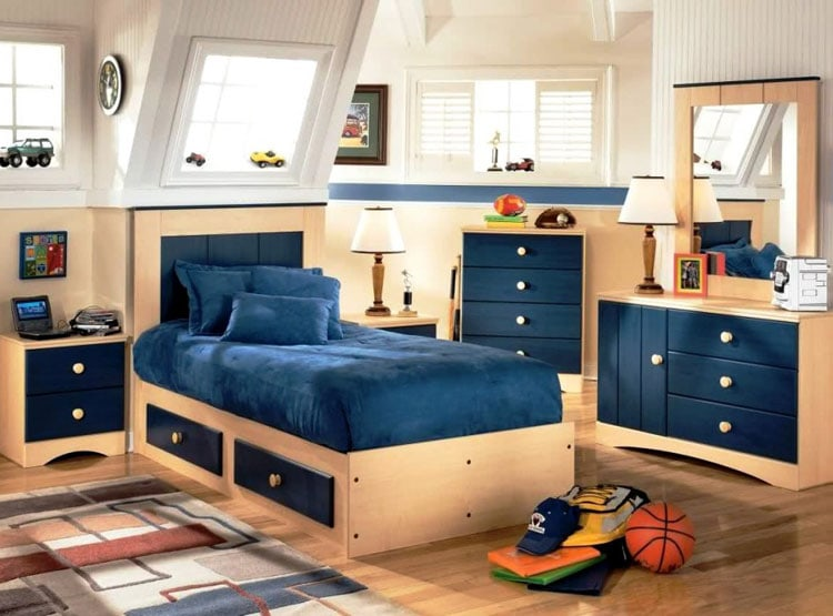 Decorate Boys Room - Little Boys Bedroom Decor Ideas