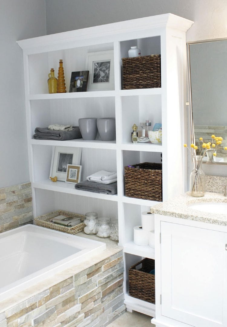 11 Best Small Bathroom Storage Ideas: Cheap Creative Organization