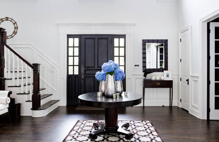 Matching Entryway Tables for a Classy Entrance