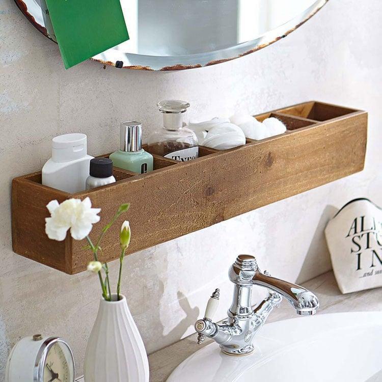 Rustic Small Bathroom Storage Ideas