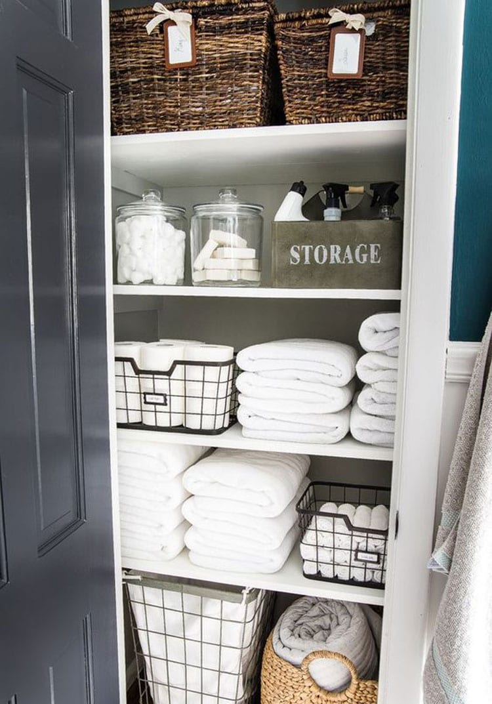 Small Bathroom Closet Ideas
