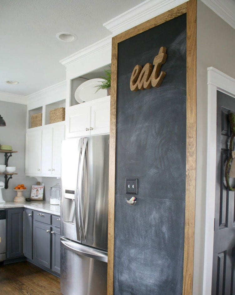 Awesome Kitchen Chalkboard Wall