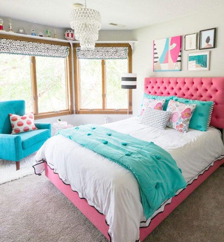 Bright Teen Girls Bedroom Ideas
