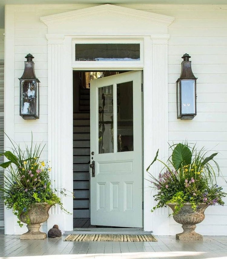 Classy Flower Pot Ideas For The Front Porch