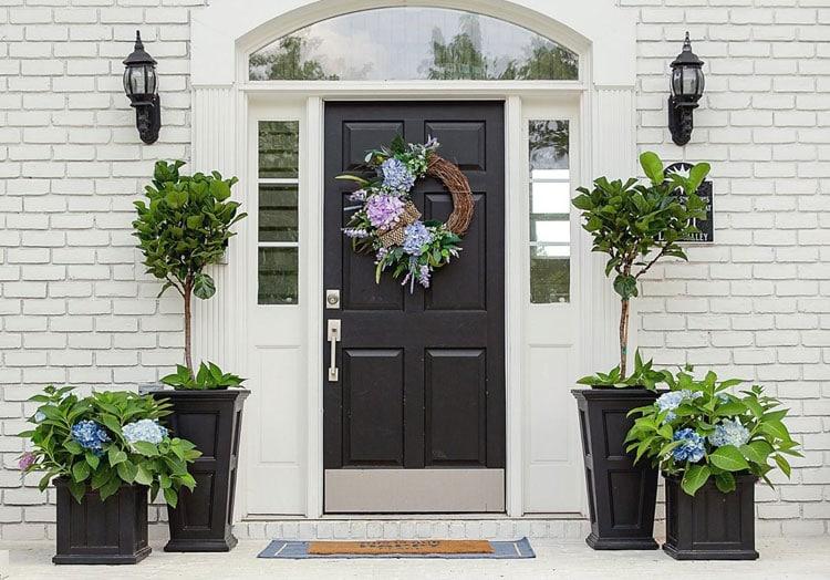 Classy Front Porch Plants