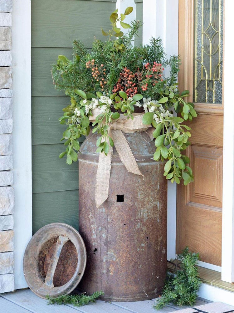 Cool Front Porch Flower Pots