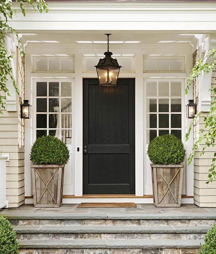 Cute Front Porch Planter Ideas