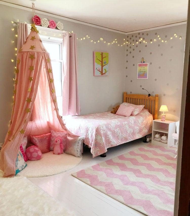 Cute Princess-Themed Bedroom Ideas For Tween Girls