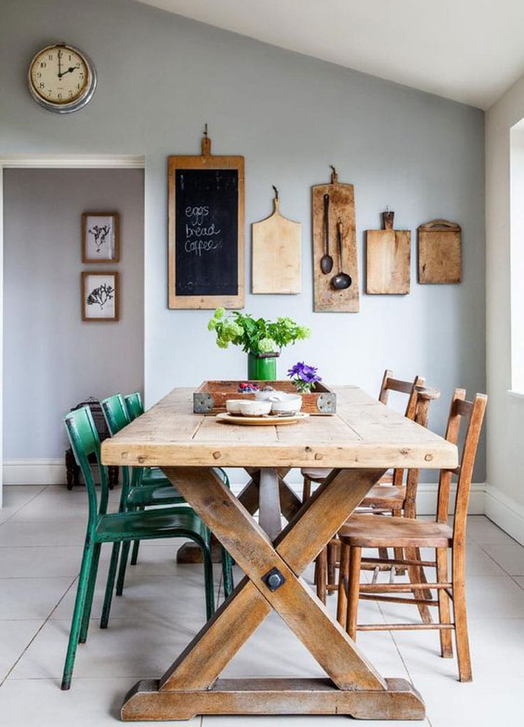 Cutting Boards on Wall For Kitchen Decor