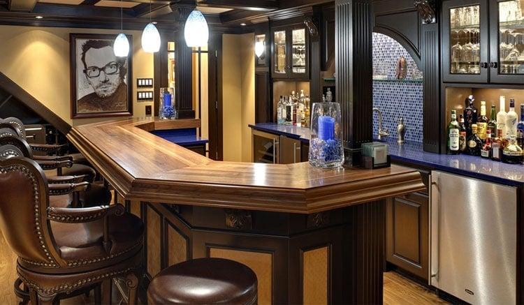 Decorate A Basement Bar