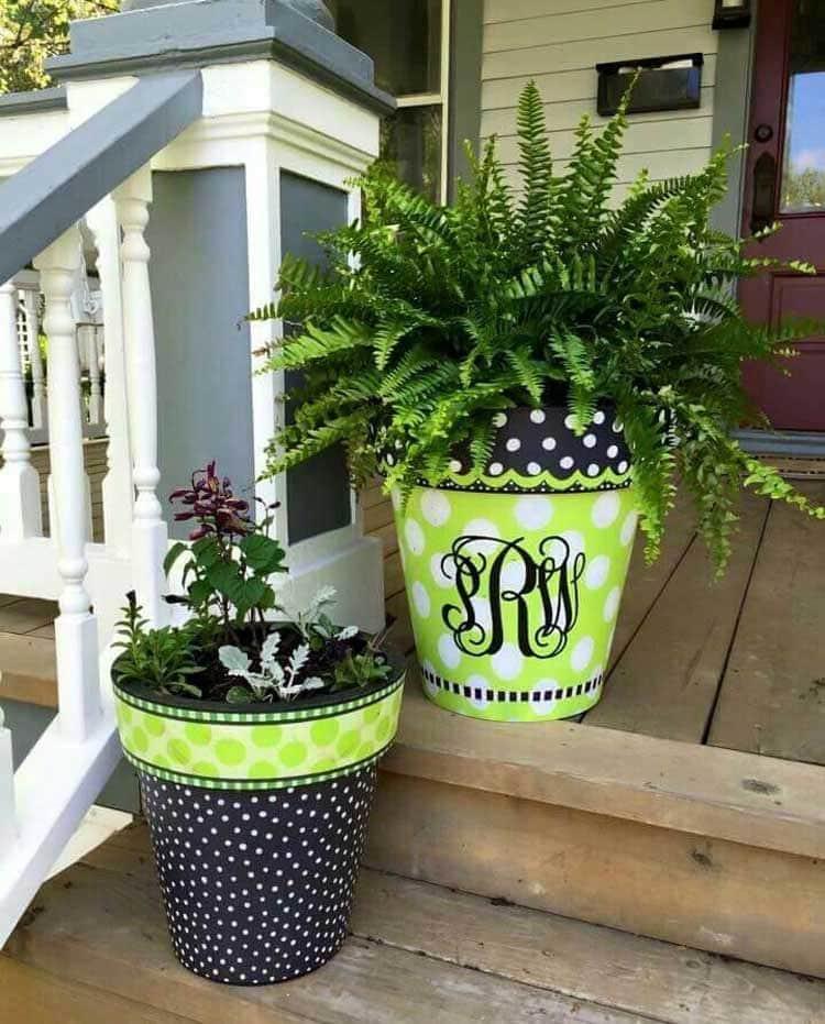 Front Patio Planters Ideas