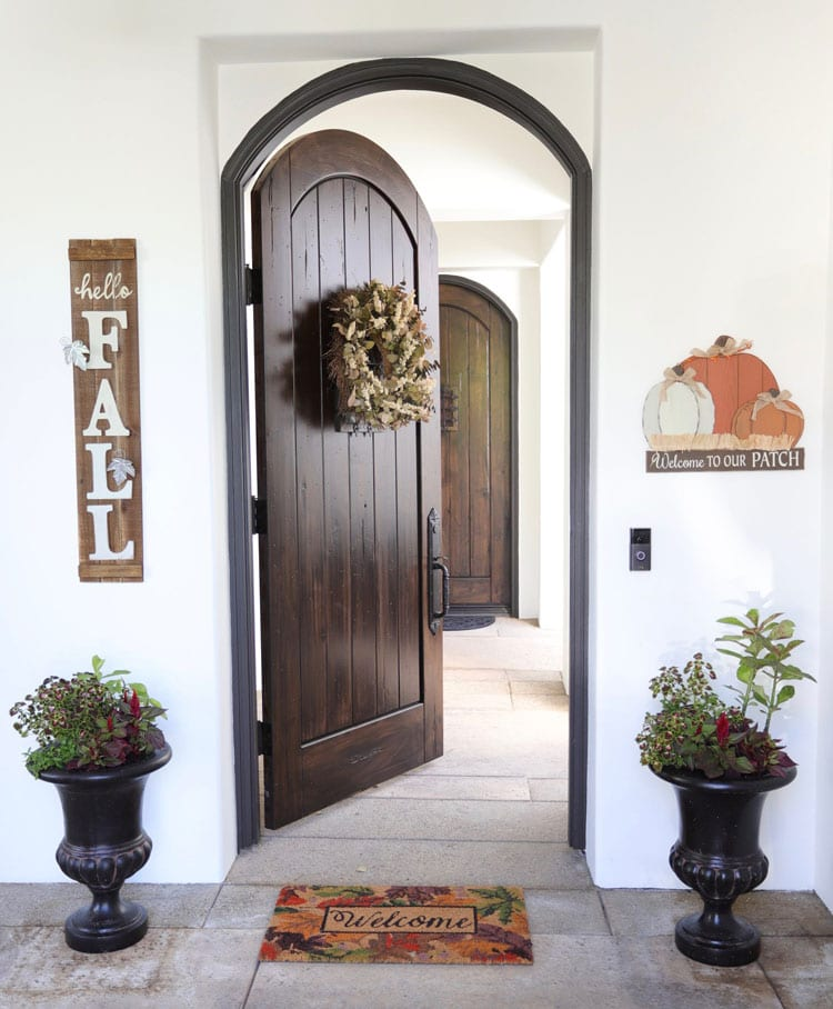 Luxury Tall Planters For Front Porch