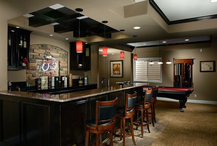 59 Cool Basement Bar Design Ideas 2021 Guide