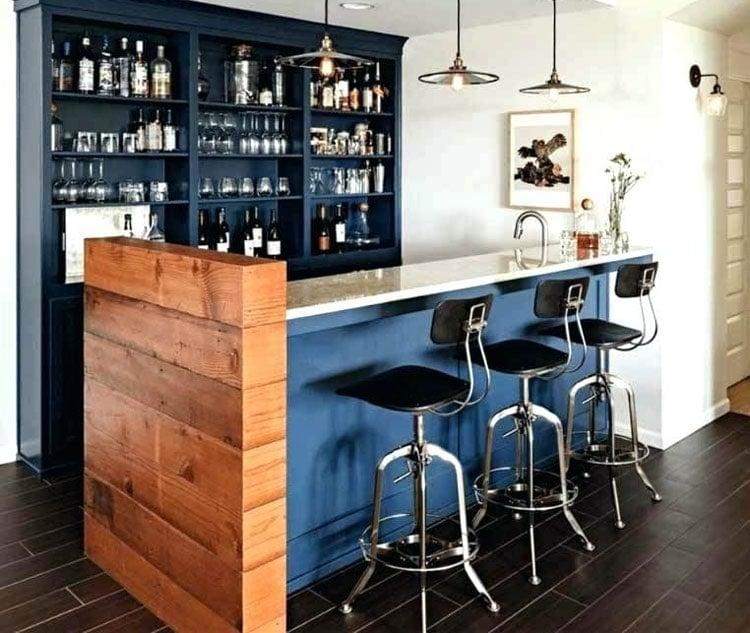 Modern Homemade Small Home Bar