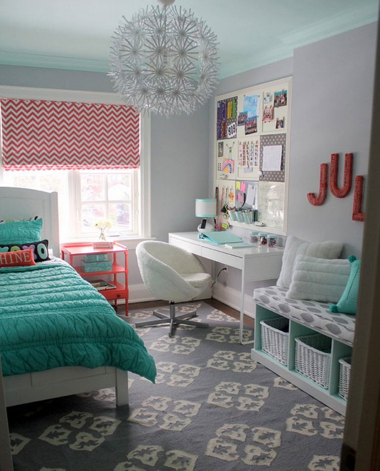 65 Cute Teenage Girl Bedroom Ideas Room Decor For Teen Girls 2021